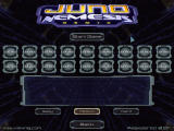 "Juno Nemesis Remix Windows Skill & level selection. All of those ""unlocked"" spaces are for cheat bonuses that can be used"