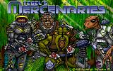 Tegel's Mercenaries DOS Title Screen