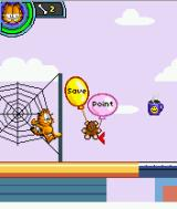 Garfield's Day Out J2ME A save point