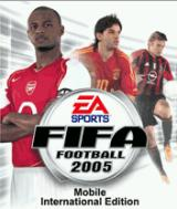 FIFA Soccer 2005 Mobile International Edition J2ME Title screen
