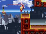 Mega Man X5 PlayStation Try not to fall down here...