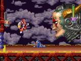 Mega Man X5 PlayStation Fighting against Sigma. I've lost almost all of my energy.