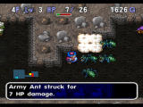 World of Dragon Warrior: Torneko - The Last Hope PlayStation A swarm of enemies can overwhelm Torneko.