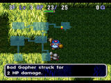 World of Dragon Warrior: Torneko - The Last Hope PlayStation A mean gopher