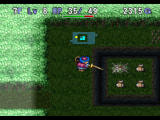 World of Dragon Warrior: Torneko - The Last Hope PlayStation Swinging a weapon next to traps will usually reveal them