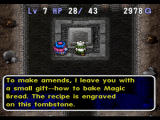 World of Dragon Warrior: Torneko - The Last Hope PlayStation Most people don't put recepies on their grave sites