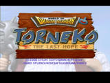 World of Dragon Warrior: Torneko - The Last Hope PlayStation Title Screen