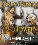 The Lord of the Rings: The Two Towers J2ME Title screen