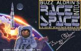 Buzz Aldrin's Race into Space DOS Title screen
