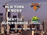 NBA Live 95 DOS New York vs. Seattle