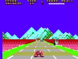 Out Run 3-D SEGA Master System Are those tulip fields?