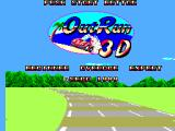Out Run 3-D SEGA Master System Title screen
