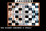 Archon: The Light and the Dark Apple II Wizard tries magic! (Boardgame sequence).