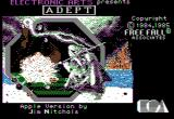 Archon II: Adept Apple II Title screen.