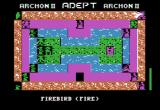 Archon II: Adept Apple II Firebird makes it move. (Boardgame sequence).