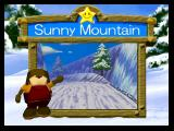 Snowboard Kids 2 Nintendo 64 Level Select Screen