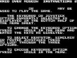 Raid Over Moscow ZX Spectrum More instructions
