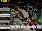 Michael Vaughan's Championship Cricket Manager Windows Match Screen