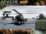 AH-64 Apache Air Assault Windows Main Menu.