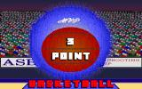 3 Point Basketball DOS Title Screen