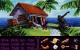 Monkey Island 2: LeChuck's Revenge DOS by the ugly statue