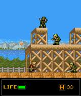 Metal Slug: Mobile J2ME Regular soldiers in the first level