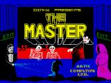 The Master ZX Spectrum Loading screen