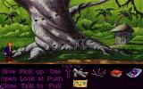 Monkey Island 2: LeChuck's Revenge DOS by the big tree