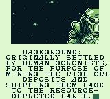 Alien vs Predator: The Last of His Clan Game Boy Background:...