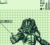Alien vs Predator: The Last of His Clan Game Boy On this screen, you can switch weapons (or turn on invisibility)