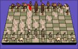 Distant Armies: A Playing History of Chess Amiga The Giraffe in decimal chess can jump over pieces like a knight, but also has the moves of a modern chess queen. Here Distant Armies' show possible moves feature is turned on.