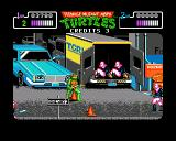 Teenage Mutant Ninja Turtles Amiga The car yard