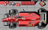 Ferrari Formula One DOS customize your car a bit - EGA