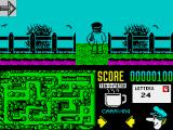 Postman Pat 2 ZX Spectrum A junction section
