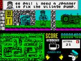Postman Pat 2 ZX Spectrum One of the sub-tasks