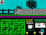 Postman Pat 2 ZX Spectrum Nice scenery, but you'll have to do some navigation here