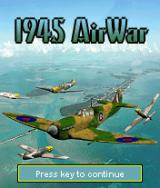1945 AirWar J2ME Title Screen
