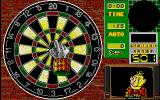 Wacky Darts Atari ST The hand guides the dart