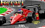 Ferrari Formula One DOS title screen - EGA