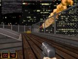 Duke Nukem 3D: Atomic Edition DOS Your space ship crashing at the beginning of the first level