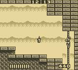 Castlevania: The Adventure Game Boy Climbing a Rope