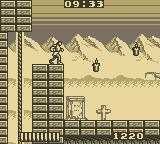 Castlevania: The Adventure Game Boy Mountain-Top Graveyard