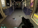 F.E.A.R.: Extraction Point Windows Inside the subway car