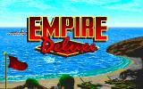 Empire Deluxe DOS Title Screen and Finish of Introduction