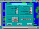Empire Deluxe DOS Game Default Preferences