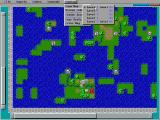 Empire Deluxe DOS Zoom Map (5 Levels) allows to move from strategy to tactics and backwards...