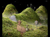 Samorost Windows The gnome has just landed and you have to figure out a way to travel over the hills.