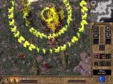 Total Annihilation: Kingdoms Windows Big attack of fire.