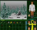 Magic Island: The Secret of Stones Amiga Inventory is little confusing - one for all characters.