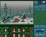 Magic Island: The Secret of Stones Amiga After the battle with a wolf.